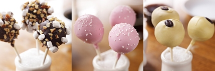 Starbucks New Petite Cake Pops