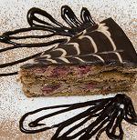 Chocolate Cake with Sauce